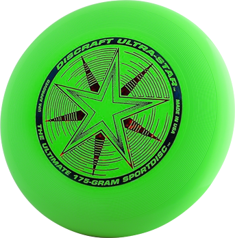 Discraft Ultra-Star Green